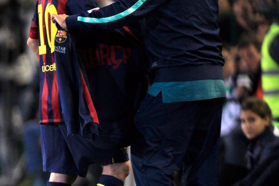Messi ut med skade