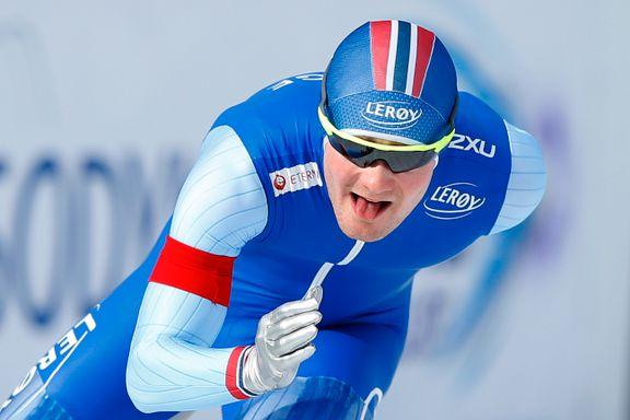 Pedersen etter seier på 5000 meter: – Jeg vil takke alle som har støttet meg