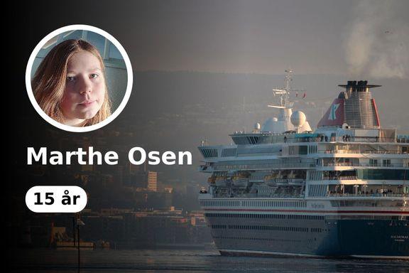 Cruisebåtene ødelegger nærmiljøet vårt. Nå må vi sette grenser.