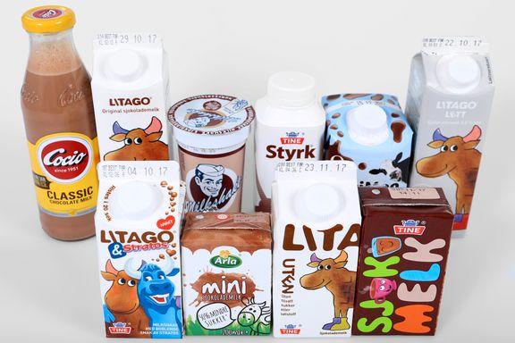 Ernæringstest av sjokolademelk: Stor forskjell på vinneren og taperne