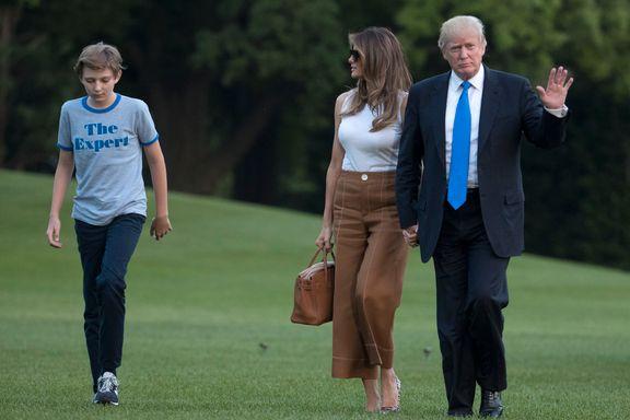 USAs førstedame har flyttet inn i Det hvite hus
