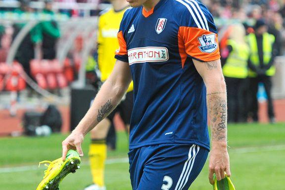 Blåmerker og hevelse setter Riise ut av nok en Champions League-kamp
