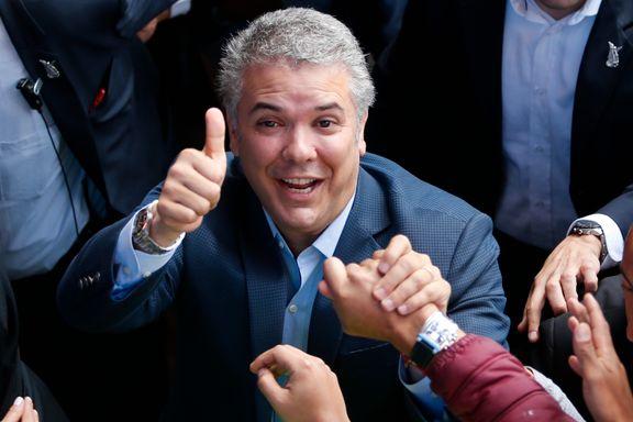 Duque vant presidentvalget i Colombia