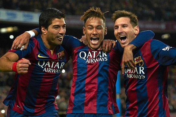 Barcelonas supertrio: 98, 99, 100, 101 og 102!