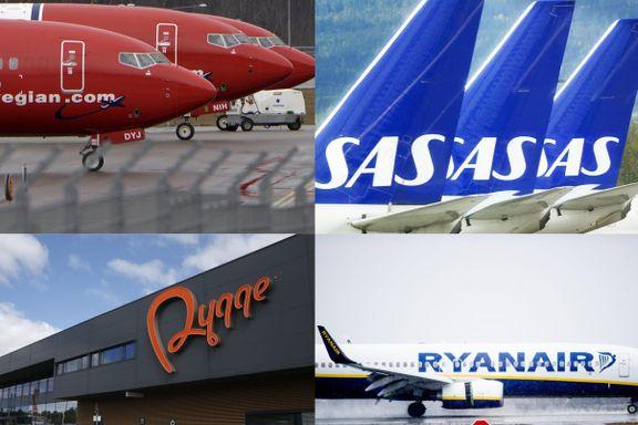 Alle raste mot den nye flyseteavgiften. Slik ble resultatet.