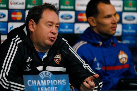 CSKA-treneren: - Vi er imot rasisme