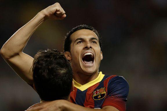 Pedro-trippel for Barcelona