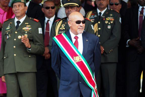 37 år etter: Surinams president dømt for drap på 15 regimemotstandere