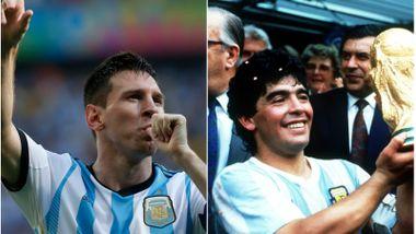«Messi er tidenes beste. Men Maradona er større».
