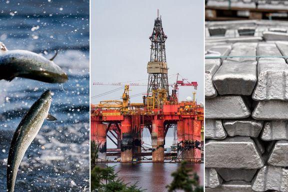 Norsk handelsoverskudd på 15,5 milliarder i mai