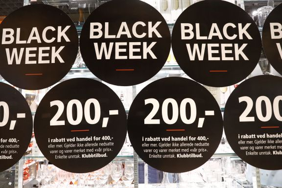 Netthandelen gikk til værs - men stupte på «Black Friday»