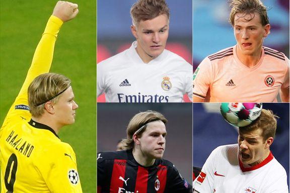 Stor kåring: Dette er Norges 20 beste fotballspillere
