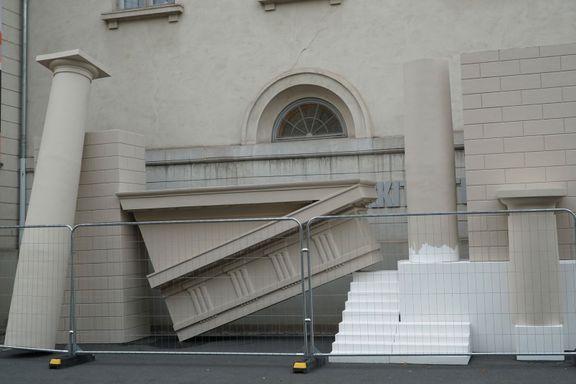 Dette er ikke søppel, men kunst. Forferdelig kunst. Midt i Oslo.
