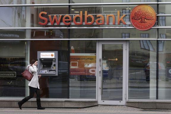 Swedbank med enormt børsfall etter hvitvasking-avsløring