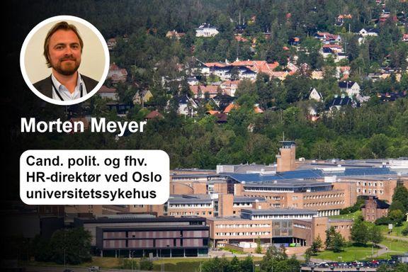 Slagstad presenterer konspirasjonsteorier om sykehusutbyggingen