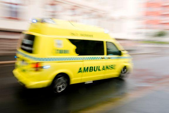 Person kritisk skadd etter utforkjøring
