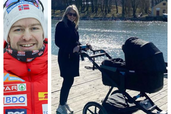 Babylykke for Sjur Røthe og Siv Emilie Løvvold