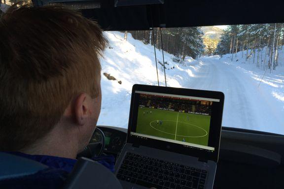Her studerer Ranheim-sjefen Sogndal for siste gang før opprykksfinalen: – Vi har funnet svakheter