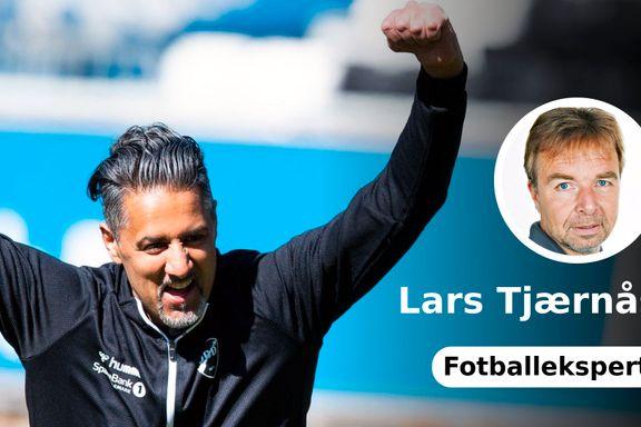 Abid Raja bør ikke bomme på åpent mål   Lars Tjærnås