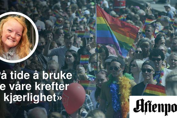 Helma (17): Gå i Pride lørdag for dem som ikke kan!