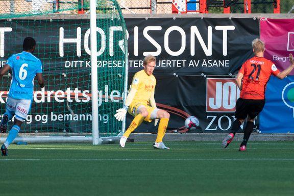 Syltynt forsvarsspill ødela: Sandnes Ulf fikk bank på bortebane