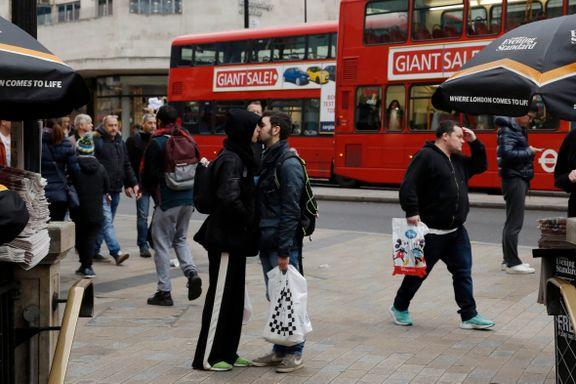 Londons største handlegate kan bli helt bilfri til neste år