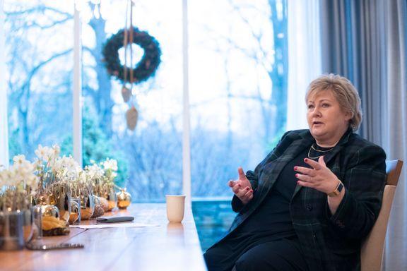 Solbergs juleadvarsel: – Vi risikerer sterkere stengninger i januar