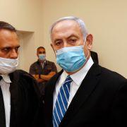 Statsminister Netanyahu møtte i retten og langet ut mot Israels rettssystem