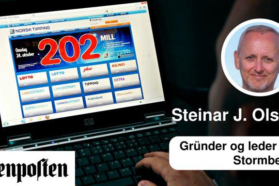 Regjeringen bør forby reklame for pengespill | Steinar J. Olsen