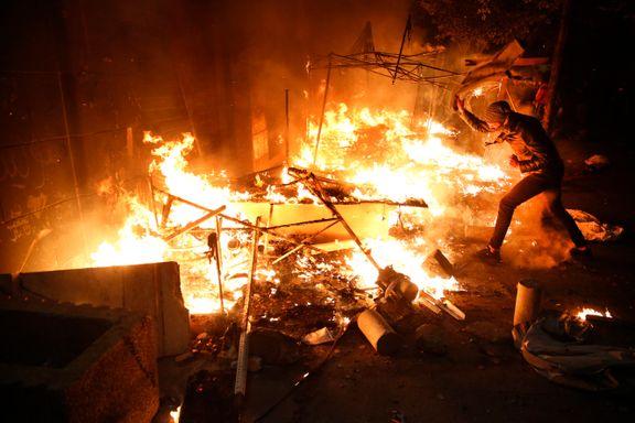 Nærmere 500 skadet i gateslag i Beirut