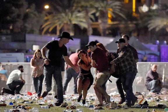 59 drept og flere hundre såret i den blodigste massakren i USA i moderne tid