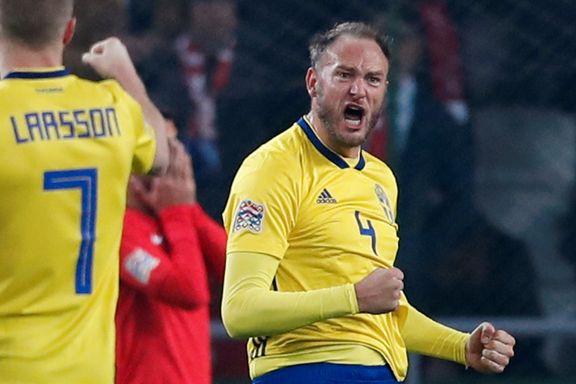 Kapteinens straffescoring sørger for thrilleravslutning i Sveriges gruppe