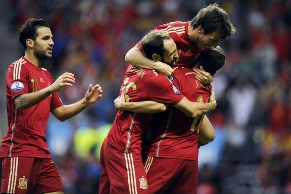Stjernene sendte Spania til topps