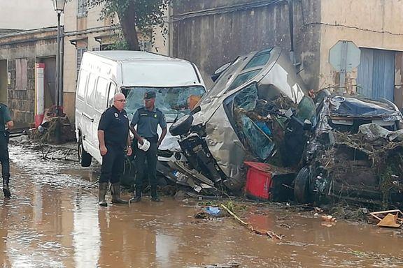 Minst åtte omkom i oversvømmelser på Mallorca