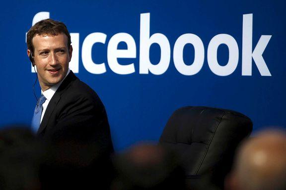 Zuckerberg om valgkampen: 99 prosent av innholdet er autentisk