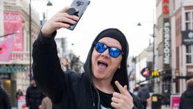 Geir Ove Pedersen (37) er internasjonal Snapchat-kjendis