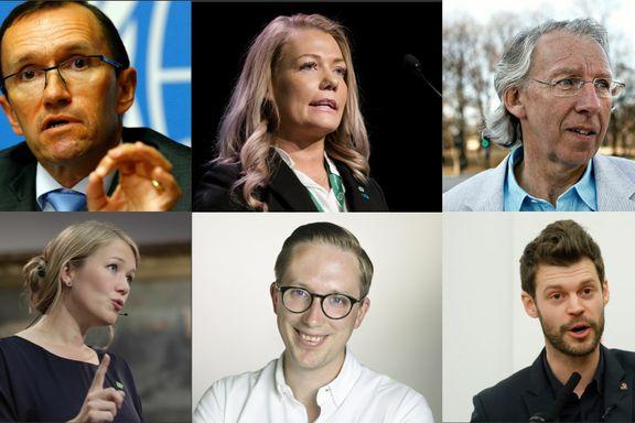 Dette er noen av de nye ansiktene på Stortinget.