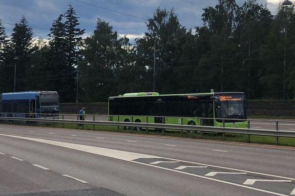 Her kjører Ruter ufrivillig buss for trikk