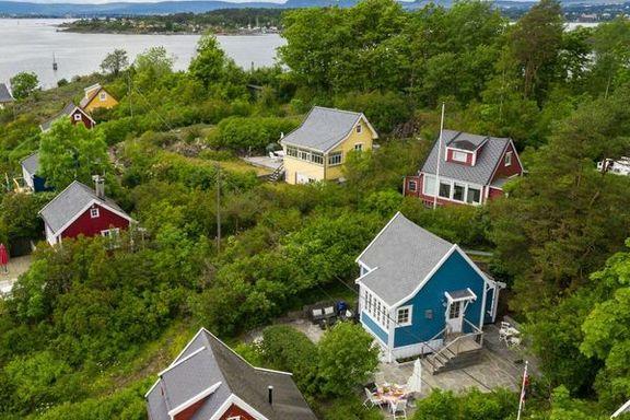 Prisrekord på Bleikøya for hytte på 32 kvm