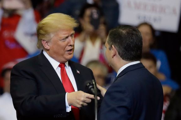 Trump: Mellomvalget handler om karavanen og Kavanaugh
