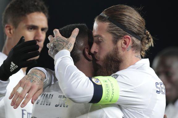 Sergio Ramos kysset og scoret: Ville ikke av banen