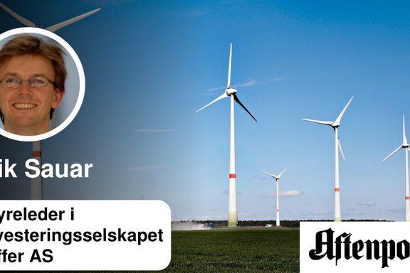 Fossil energidominans er snart bare en illusjon   Erik Sauar