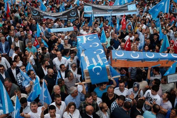 Tyrkia kritiserer Kinas behandling av minoritetsgruppe