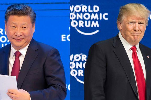To taler viser hvordan Kina og USA bytter roller. - Kina er mye mer med og mye mer på