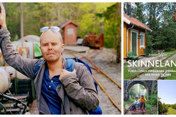 Gå langs nedlagte togskinner i sommer? Vår anmelder testet denne boken - og fikk smaken.