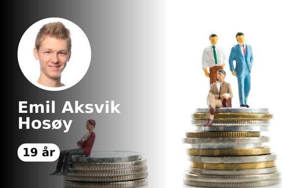 Emil (19): Journalistar skal ha takka for at staten ikkje er korrupt