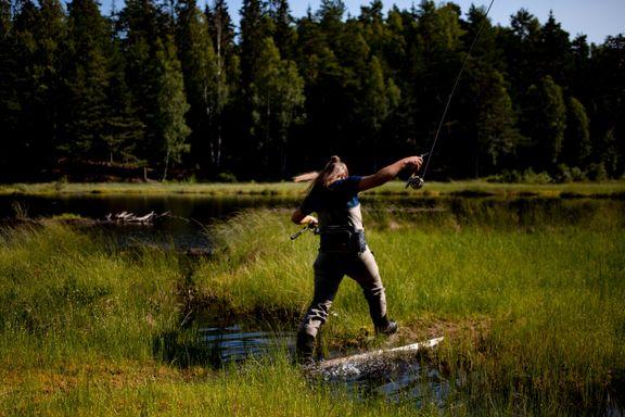 Fisket i Marka endte i konflikter og søksmål. Det er to år siden forrige ørret ble satt ut.