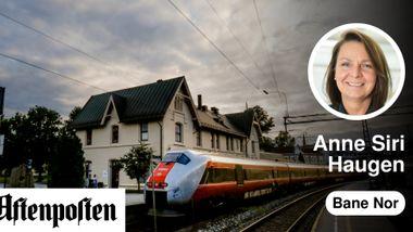 Østlandet trenger et godt togtilbud   Anne Siri Haugen