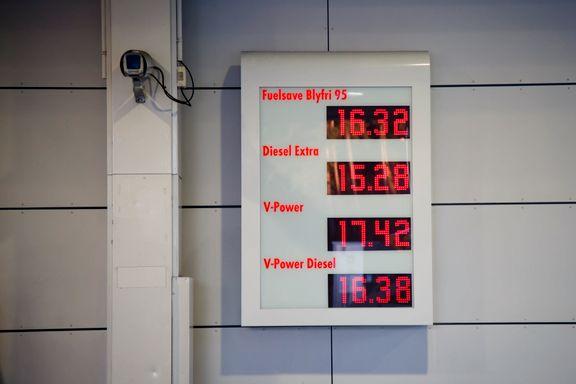 Aldri før har bensinen vært så dyr i Norge