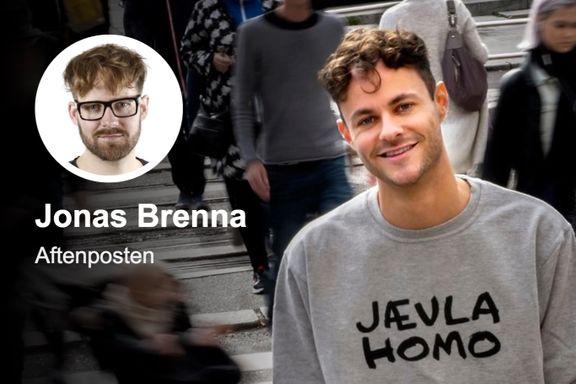 Bildet NRK tegner av homofiles liv står i sterk kontrast til virkeligheten   Jonas Brenna